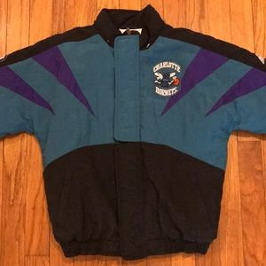 Vintage Youth Charlotte Hornets 90's Apex Jacket
